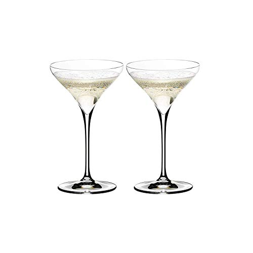 (Riedel 0403/17 Vitis Martini Glass, Set of 2, One Size, Clear)