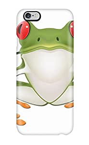 Ultra Slim Fit Hard Melissa Jean Carpenter Case Cover Specially Made For Iphone 6 Plus- Frog Prince