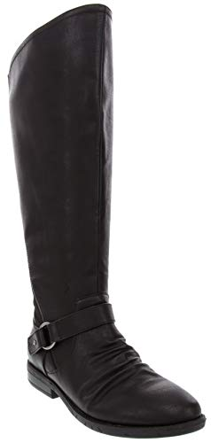 Rampage Women's Iamba Riding Boot with Wraparound with O-Ring Buckle Zip Closure and Flex GoreBlack 8
