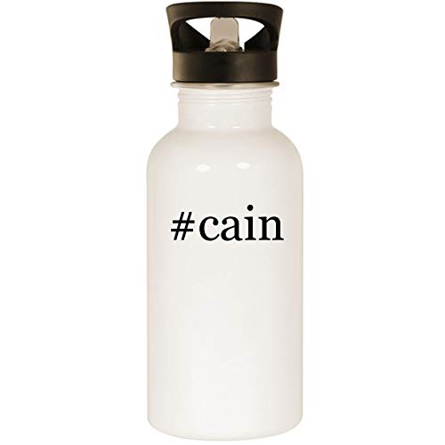 #cain - Stainless Steel Hashtag 20oz Road Ready Water Bottle, - Cain Shirt Matt