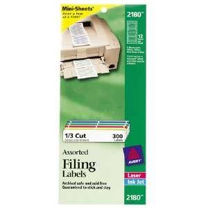 AVE2180 - Avery File Folder Labels on ()