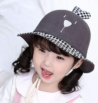e62367d90e1c6 ベビー 帽子 日よけ 帽子 uvカット 紫外線対策 つば広 ハット 折りたたみ あご紐付き