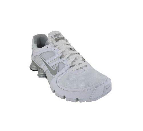 Nike Shox Turbo+ 11 Mens Running Shoes 407266-101 White 10.5 M US