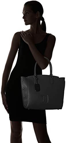 Jeans 9y099999 Nero Bag black 75b00452 Women's Tone Shoulder Trussardi On dZwqtUt