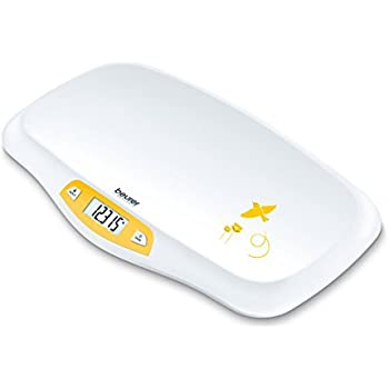 Beurer Digital Baby Scale with Comfortable Curving Platform, BY80