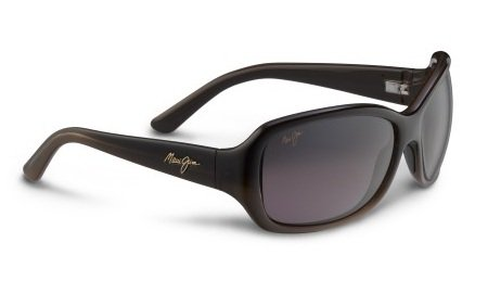 Maui Jim - Pearl City - Chocolate Fade Frame-Maui Rose Polarized - Rose Maui Maui Jim