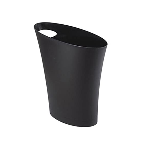 Umbra-Skinny-Trash-Can–Sleek-Stylish-Bathroom-Trash-Can-Small-Garbage-Can-Wastebasket-for-Narrow-Spaces-at-Home-or-Office-2-Gallon-Capacity