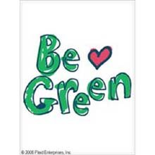 (Uptown Baby Color Transfer Iron-On 2-Pack: Be Green/Recycle)