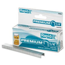 Premium Staples, Chisel Pt, 210 Strip, 5000/Box, Sold as 1 Box, 5000 Each per Box