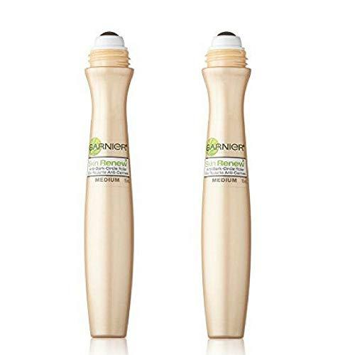 Garnier SkinActive Clearly Brighter Sheer Tinted Eye Roller, Light/Medium, (Pack of 2) (2-Count) (Best Drugstore Eye Roller)