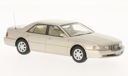 Cadillac Seville STS, metallic-beige, 1992, Model Car, Ready-made, BoS-Models 1:43 (Seville Motor)