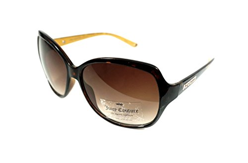 (Juicy Couture Women's Oversized Sunglasses Tortoise Brown)