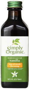 Simply Organic Flavor Vnlla Alc Free