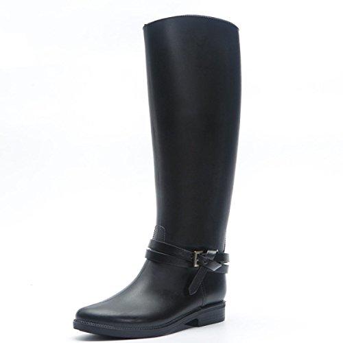 HOFFNUNG Männer Frauen Regen Stiefel Wasser Schuhe Wasserdicht Anti-Schlamm Vier Jahreszeiten Anti-Rutsch Tasteless Soft,A-a A
