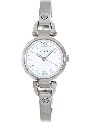 Fossil Women's ES3269 Georgia Three-Hand Stainless Steel Watch - Silver-Tone