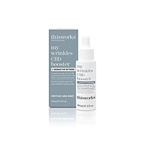 This works my wrinkles CBD booster + granctive ret...