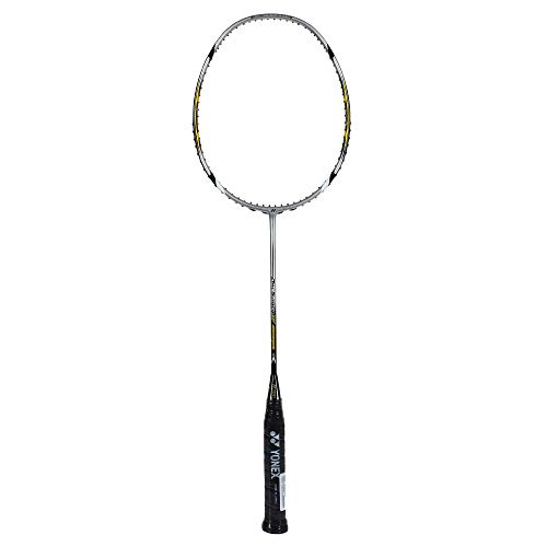 YONEX  Arcsaber 7  Unstrung Badminton Racquet ( Yellow , G4 , 85-92 grams , 24 lbs ) Price & Reviews