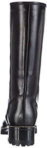 S6815 Botas de Sebastian negro B Schwarz 12 piel mujer vitello nero para dxIwBw
