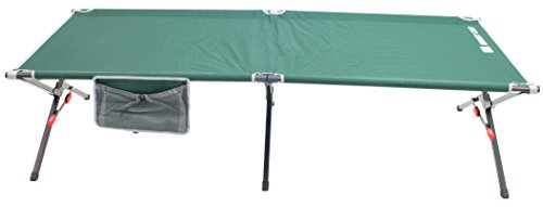Rio Gear Portable XL Smart Cot Military Style Folding Camping Cot
