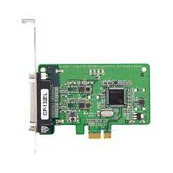 MOXA CP-132EL-DB9M 2 Port PCIe Board with DB-9M Cable, RS-422/485. Low Profile