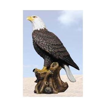 `American Pride` Bald Eagle Statue Nature Figure by Private Label