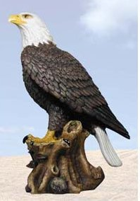 Private Label `American Pride` Bald Eagle Statue Nature Figure