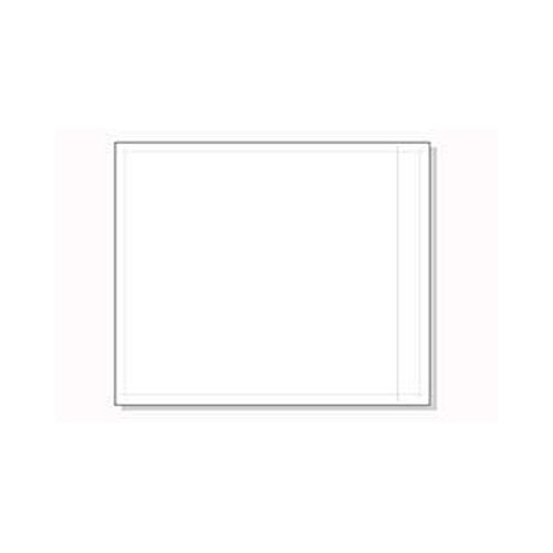 10 x 12'' Clear Large Packing List Envelopes (500 Envelopes) - Laddawn 3877 by Miller Supply Inc