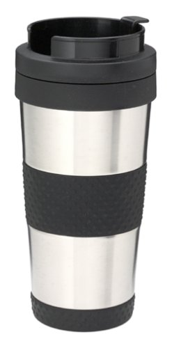 (Thermos 14-Ounce Stainless-Steel Insulated Travel Tumbler)