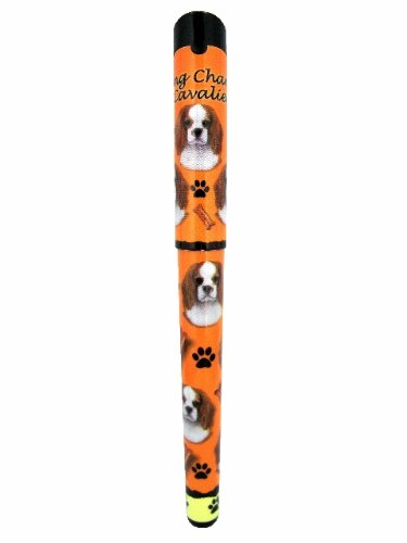 (E&S Pets King Charles Cavalier Pen Easy Glide Gel Pen, Refillable with A Perfect Grip, Great for Everyday Use, Perfect King Charles Cavalier Gifts for Any Occasion)