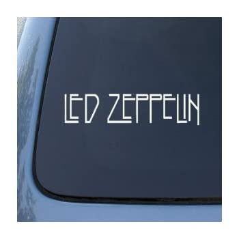 Led Zeppelin Car Window Stickers