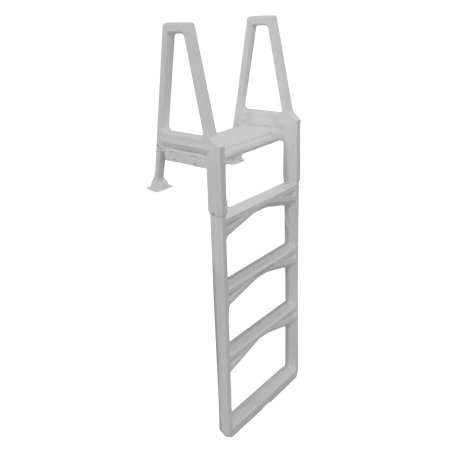 Ground Above Ladder (Confer Gray Economy Above Ground In-Pool Ladder - 635-52X)