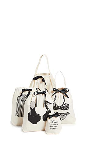 Price comparison product image Bag-all Women's Women's Weekend Getaway Set,  Natural / Black,  One Size