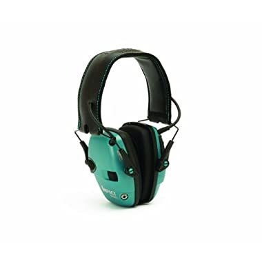 Howard Leight by Honeywell Impact Sport Sound Amplification Electronic Earmuff (Teal)