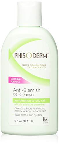 Phisoderm Anti-Blemish Gel Cleanser 6 oz (Pack of 2)