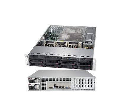 Supermicro SYS-6029P-TR 2U Xeon LGA 3647 C621 8x3.5 inch HotSwap SATA3 PCIE 1000 Watts Brown Box