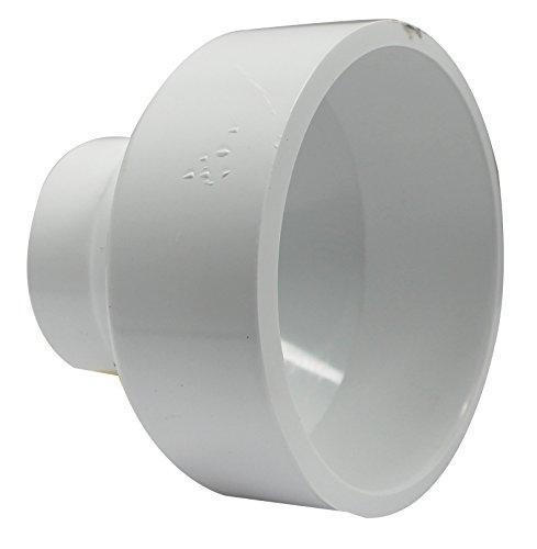 Canplas 193025 PVC DWV Reducer Coupling, 4 x 2-Inch -