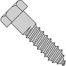 Hex Lag Screw - 3/8-7 x 2'' - Low Carbon Steel - Zinc CR+3 - Pkg of 50 - Brighton-Best 486326, (Pack of 5) (486326)