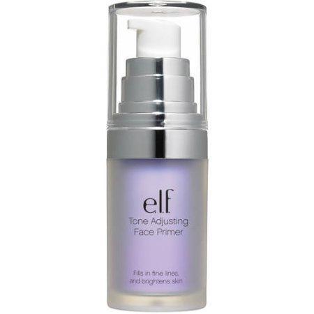 e.l.f. Tone Adjusting Face Primer, Brightening Lavender, 0.47 fl oz