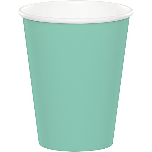 - Creative Converting Celebrations 96-Count 9 oz. Hot/Cold Cups, Fresh Mint - 168486
