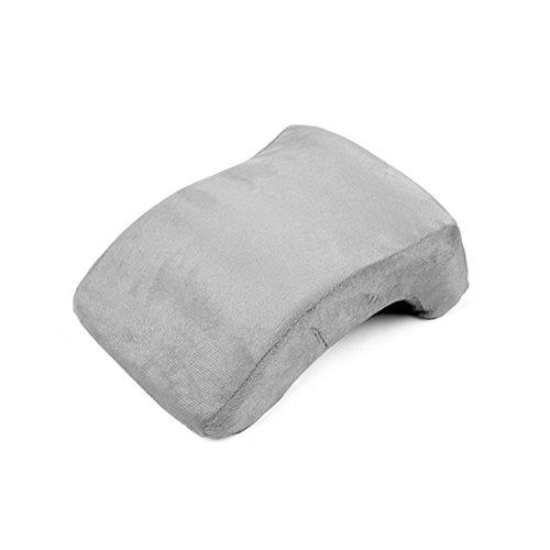 CNC-032 Contour Memory Foam Pillow / Nap Memory Foam Pillow / Portable Pillow / Waist cushion / Camping pillow / Chair back / ( 9.1 X 11.8 X 4.4 Inches, (Iso Daily Foam)