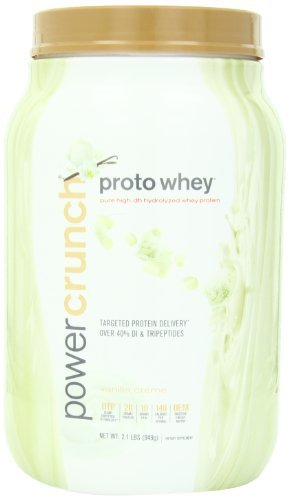 e Hydrolyzed Whey Protein, Vanilla Creme, 2.0 lbs (910 g) by BNRG (Proto Whey Vanilla Creme)