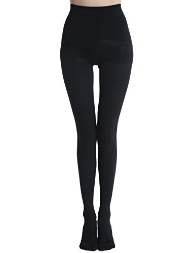 - SIFTANTIN Bodyshaping Opaque Tight-End Tights (X-Large,Black)
