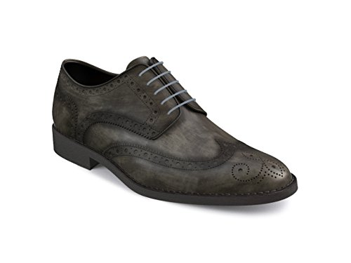 Mujer gris Dis – – Derby Zapato Full Monica Brogue 1O1q4