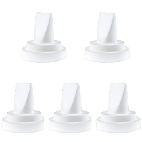 (Nenesupply 5 pc Compatible Duckbill Valves for Spectra S1 Spectra S2 and Medela Pump in Style Not Original Spectra S2 Accessories Replaces Spectra Duckbill Valve and Duckbill Valve Medela )