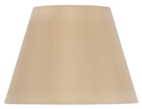 Upgradelights Six Inch Clip On European Drum Style Chandelier Lamp Shade 6 in Antique Gold Silk