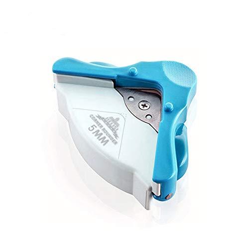 Sunnylela R5 Corner Rounder Punch -DIY Mini 5mm Radius Paper Cutting Corner Machine Round Punching Tool Office Cutting Supplies