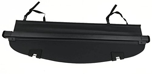 Cargo Cover For 2017 2018 Mazda Cx-5 Black Retractable Trunk Shielding Shade by Kaungka(Updated Version:There is no gap between the back seats and the cover)