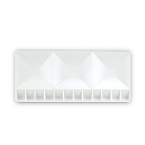Generic 15pcs Plastic Palette with three large wash basins by Generic