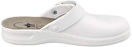 weiß Pantuflas Weiß Lady Para Blanco Mujer Classic Clog Lico tA0vw