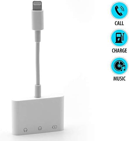 Lighting Headphone Adapter Charging Adaptive